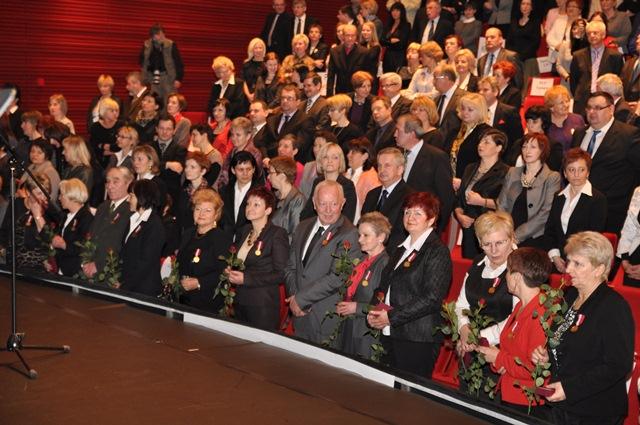 Gala z okazji Dnia Pracownika Publicznych Służb Zatrudnienia w 2012 roku